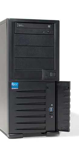 "Server - Tower Server - Entry - RECT™ TS-3265C4-T - Tower Server with latest Intel Core Single-CPU ""Kaby Lake"""