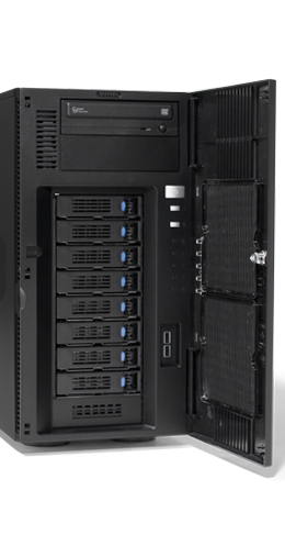 Mid-Range - Tower-Server - RECT™ TS-5488R8 - Intel Xeon Scalable in a RECT Tower Server