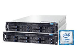 Failover - RECT™ RS-8685MR8 - Cluster - Two Dual-CPU 2U Rack Server with Intel Xeon E5-v4 CPUs