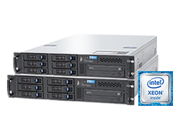 Cold Spare - Failover - RECT™ RS-8664R6 - Primary-Server and its replacement system: Single-CPU Intel Xeon E3-v5 Rack Server