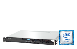 "1U Intel - Rack Server - RECT™ RS-8564C SHORTY - Short 1U Rack Server with brand new Intel Xeon E3-v6 CPUs ""Kaby Lake"""
