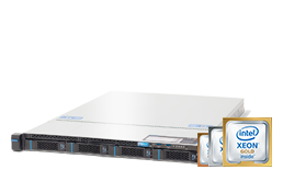 Server - Rack Server - 1U - RECT™ RS-8587R4 - Single Intel Xeon Scalable in 1U RECT Rack Server
