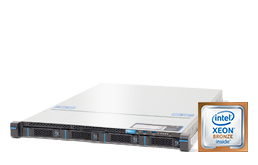 Server - Rack Server - 1U - RECT™ RS-8587R4 Entry - Single Xeon Scalable R in 1U Rack Server