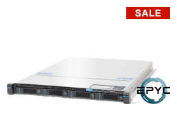 Server - Rack Server - 1U - RECT™ RS-8534R4 - 1U Rack Server with Dual AMD EPYC CPU up to 64 Cores