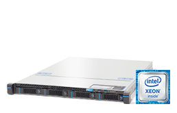 Server - Rack Server - 1U - RECT™ RS-8568R4 - 1U Rack Server with Intel® Xeon® W processors