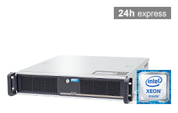Server - Rack Server - 2HE - RECT™ RS-8664C - Kurzer 2HE Single-CPU Rack Server mit Intel Xeon E3-v6 CPUs