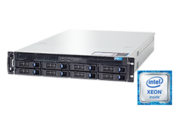 2U Intel - Rack Server - RECT™ RS-8685S8 - All-In-12G: 2U rack server with latest Intel Xeon E5-v4 CPUs Broadwell-EP