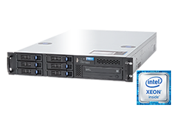 2U Intel - Rack Server - RECT™ RS-8684R6 - 2U Single-CPU Rack Server with latest Intel Xeon E5-V4 CPUs Broadwell-EP