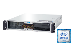 "2U Intel - Rack Server - RECT™ RS-8665C-T - Short 2U Rack Server with latest Intel Core Single-CPU ""Kaby Lake"""
