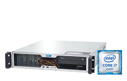 Server - Rack Server - 2U - RECT™ RS-8667C-T - Short 2U Rack Server with Intel® Core™ Processors