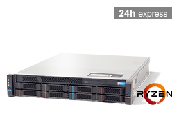 Server - Rack Server - 2U - RECT™ RS-8625R8 - 2U Rack Server with AMD Ryzen 3000 CPUs