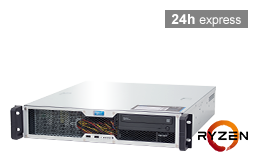 Server - Rack Server - 2U - RECT™ RS-8625C-T - Short 2U Rack Server with AMD Ryzen™ 3000 Processor