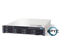 Server - Rack Server - 2U - RECT™ RS-8635R8 - 2U Rack Server with single AMD EPYC Rome CPU up to 64 Cores