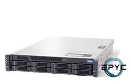 Server - Rack Server - 2U - RECT™ RS-8636R8 - 2U Rack Server with all-new AMD EPYC Rome CPUs for up to 128 Cores