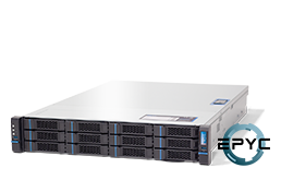 Server - Rack Server - 2U - RECT™ RS-8635R12 - 2U Rack Server with single AMD EPYC Rome CPU up to 64 Cores