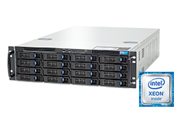 3U Intel - Rack Server - RECT™ RS-8785S16 - All-In-12G: 3U rack server with latest Intel Xeon E5-v4 CPUs Broadwell-EP