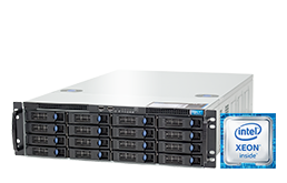 3U Intel - Rack Server - RECT™ RS-8784R16 - 3U Single-CPU Rack Server with latest Intel Xeon E5-V4 CPUs Broadwell-EP