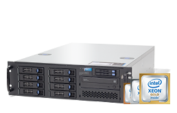 Server - Rack Server - 3U - RECT™ RS-8787R8 - Single Xeon Scalable R in 3U Rack Server