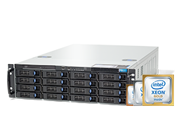 Server - Rack Server - 3U - RECT™ RS-8787R16 - Single Xeon Scalable R in 3U Rack Server