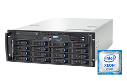 4U Intel - Rack Server - RECT™ RS-8884R16 - 4U Single-CPU Rack Server with latest Intel Xeon E5-V4 CPUs Broadwell-EP