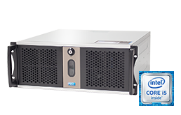 "Server - Rack Server - 4U - RECT™ RS-8865C5-T - Short 4U Rack Server with latest Intel Core Single-CPU ""Kaby Lake"""