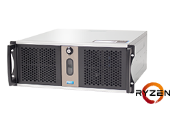 Server - Rack Server - 4U - RECT™ RS-8823C5-T - Short 2U Rack Server with AMD Ryzen™ Processor