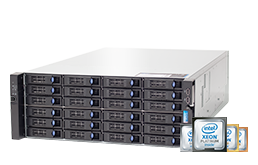 Server - Rack Server - 4U - RECT™ RS-8888S24 - Dual Intel Xeon Scalable R in 4HE Rack Server