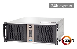 Server - Rack Server - 4U - RECT™ RS-8825C5-T - Short 4U Rack Server with AMD Ryzen™ 3000 Processor