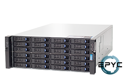 Server - Rack Server - 4U - RECT™ RS-8836R24 - 4U Rack Server with AMD EPYC Rome CPUs for up to 128 Cores