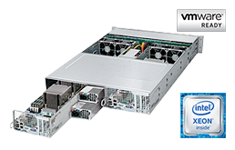 Twin / Multinode - Rack Server - RECT™ RS-8685VR24-Twin - 2-Nodes with NVMe Support in 2U Rack Server