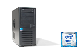 "Silent-Server - RECT™ TS-3265C4-T - Tower Server with latest Intel Core Single-CPU ""Kaby Lake"""