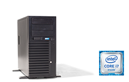 Silent-Server - RECT™ TS-3267C4-T - Tower Server with Intel Core™ Processors