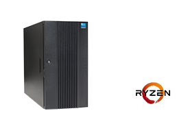 Silent-Server - RECT™ TS-5425MR8 - Tower-Server with AMD Ryzen™ 5000