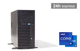 Silent-Server - RECT™ TS-3270C4-T - Tower Server with latest Intel® Core™ Processors
