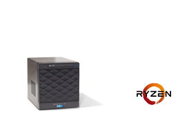 Silent-Server - RECT™ TS-3125C4-T - Compact mini Tower-Server with AMD Ryzen 3000 CPUs