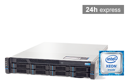 Silent-Server - RECT™ RS-8664R6 - 2U Single-CPU Rack Server with Intel Xeon E3-v6 CPUs