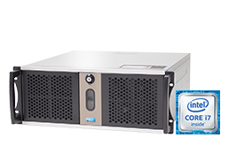 Silent-Server - RECT™ RS-8867C5-T - Short 4U Rack Server with Intel® Core™ Processors