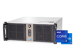Silent-Server - RECT™ RS-8870C5-T - Short 4U Rack Server with latest Intel® Core™ Processors