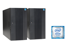 Silent-Server - RECT™ TS-5485MR8 - Cluster - Two Dual-CPU Tower Server with Intel Xeon E5-v4 CPUs