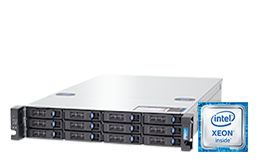 Storage - NAS - RECT™ ST-36xxR12-N - 2U Storage Rack Server with up to 216 Terabyte