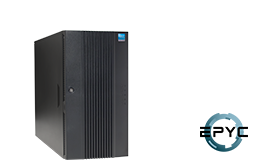 Server - Tower Server - Mid-Range - RECT™ TS-5436R8 - Tower Server mit AMD EPYC Rome CPUs für bis zu 128 Kerne