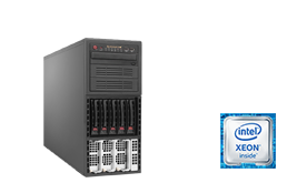 Server - Tower Server - High-End - RECT™ TS-6486R10 - Quad-CPU Tower Server with Intel Xeon E7 CPUs Broadwell-EX
