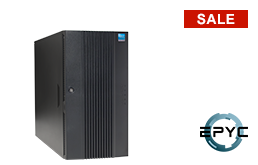 Server - Tower Server - Mid-Range - RECT™ TS-5434R8 - Tower Server with AMD EPYC CPUs for up to 64 Cores