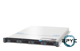 Virtualization - Microsoft - RECT™ RS-8535MR4 - 1U Rack Server with single AMD EPYC Rome CPU up to 32 Cores