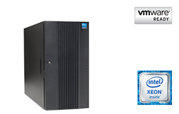 VMware - Virtualization - RECT™ TS-5485VR8 - up to 44-cores; the very latest Intel Xeon E5-v4 for Dual-CPU Tower Server