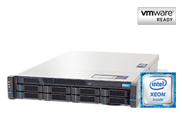 VMware - Virtualization - RECT™ RS-8685VR8 - up to 44-cores; the very latest Intel Broadwell EP-Plattform for Dual-CPU 2U Rack Server