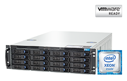 VMware - Virtualization - RECT™ RS-8785VR16 - up to 44-cores; the very latest Intel Broadwell EP-Plattform for Dual-CPU 3U Rack Server
