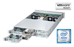 VMware - Virtualization - RECT™ RS-8685VR24-TwinPro² - 2TB (2048 GB) DDR4-RAM in 2U Rack Server with 4 dual Intel Xeon E5-2600v4 systems